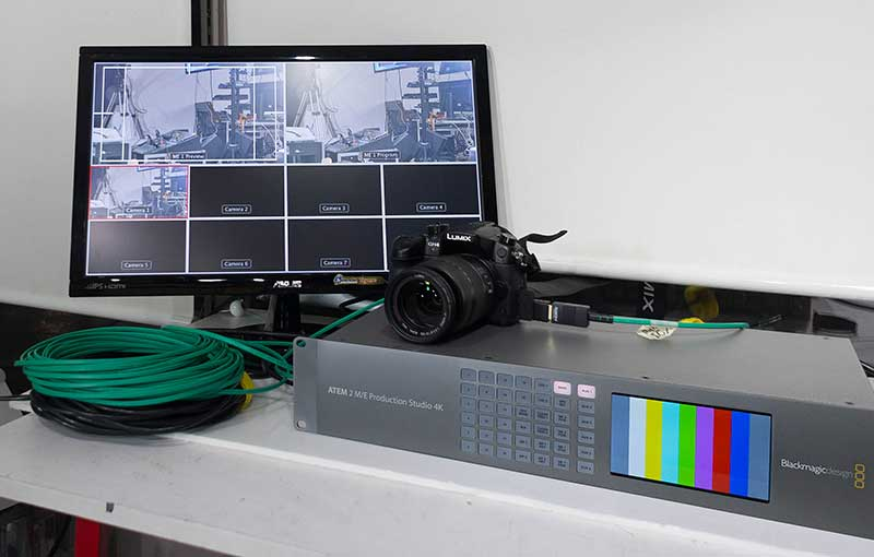 GH4とATEM 2M/E Production Swicherをセット
