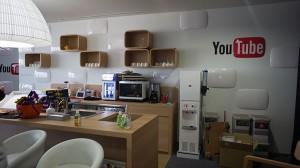 YouTube Spaceのミニキッチン