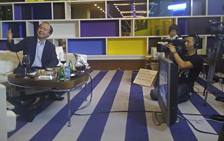孫正義×佐々木俊尚「光の道」対談 主催:ソラノート 3